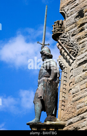 William Wallace-Schwert - Wallace Monument Stockfoto, Bild ...
