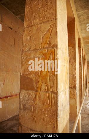 Die Leichenhalle Tempel der Königin Hatschepsut Luxor Ägypten - Stockfoto