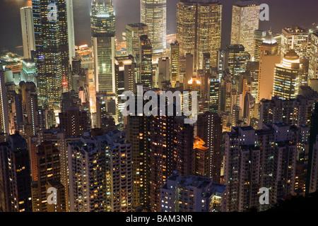 Hong Kong Stadtbild - Stockfoto