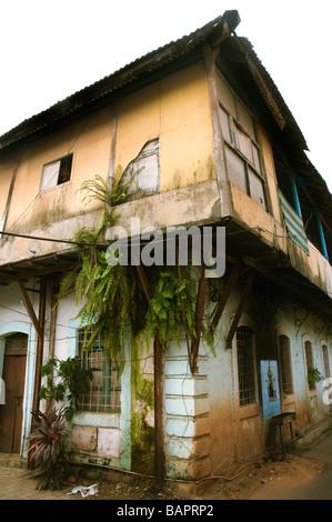 Architektur in Panaji, Nord-Goa - Stockfoto