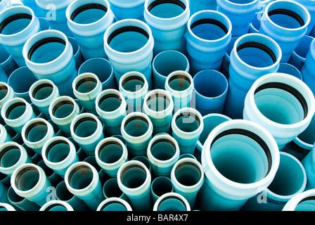 pvc wasser und abwasser rohr zur baustelle transportiert werden stockfoto bild 23865715 alamy. Black Bedroom Furniture Sets. Home Design Ideas
