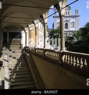 Italien Piemont Sacro Monte o Nuova gerusalemme di Varallo Sesia 2003 UNESCO-Welterbe - Stockfoto