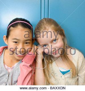 Zwei Japanische Schulmädchen