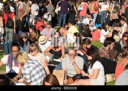 Gemeinschaft-Festivals, beliebt bei jungen Menschen sind in Stadtteile und Städte in ganz Australien statt. - Stockfoto