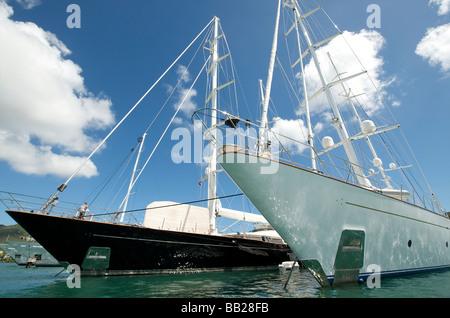 Sint Maarten Simpson Bay Marina - Stockfoto