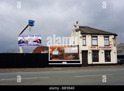 Ace of Diamonds auf Oldham Road, Meilen, Plattierung, Manchester - Stockfoto