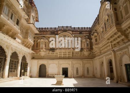 Indien Rajasthan Jodhpur Mehrangarh fort - Stockfoto
