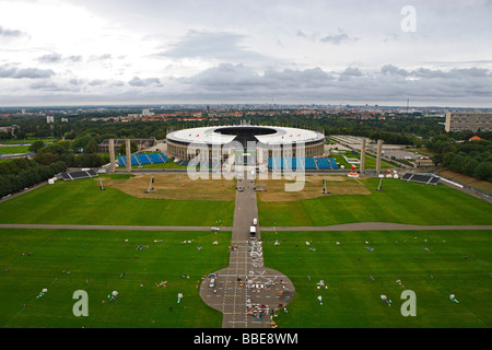 Sportplatz Maifeld am Olympiastadion in Berlin, Deutschland, Europa - Stockfoto
