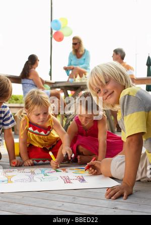 Kinder Geburtstagsparty - Stockfoto