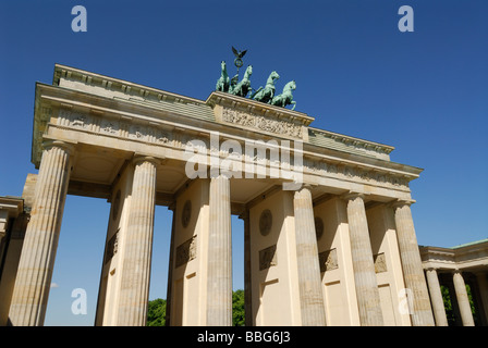 Brandenburger Tor Berlin Deutschland - Stockfoto