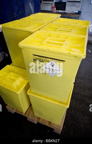 Recycling von giftigen Abfällen müssen alle Gemeinden in den Niederlanden bieten bekannte Sammelstellen für und - Stockfoto