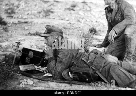 Feldtelefon Deutsche Wehrmacht Zweiter Weltkrieg