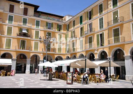 Marktstände, Placa Major, Palma De Mallorca, Palma Stadt, Mallorca, Balearen, Spanien - Stockfoto