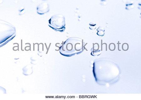 Wassertropfen - Stockfoto