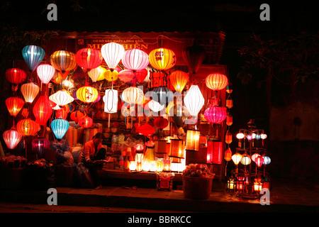 """Hoi an ' Laterne Stand [nachtbeleuchtet], Vietnam - Stockfoto"