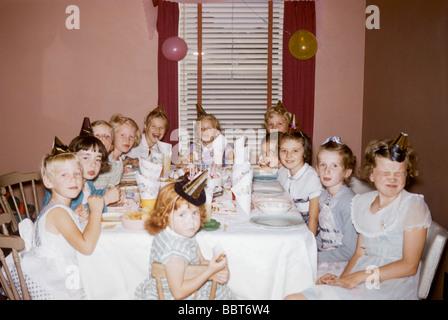 Kinder Party Kanada 1957 - Stockfoto