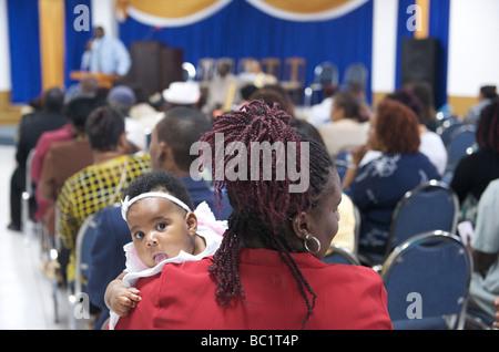 Sint Eustatius Oranjestad Predigt der Adventisten - Stockfoto