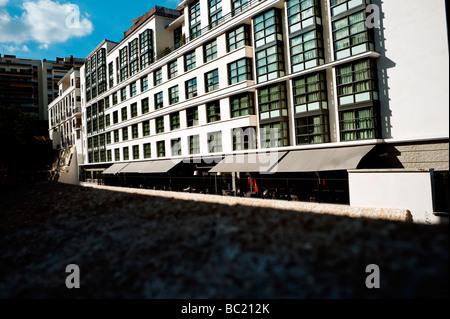 "Paris Frankreich, Budget Hotel Exterior Gebäude ""Mama Shelter"" - Stockfoto"