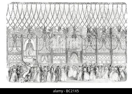 den Ball in der Guildhall-Südseite - Stockfoto