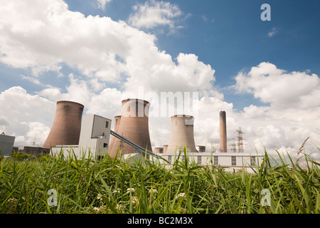 Fiddlers Ferry Kohle befeuerten Kraftwerk in der Nähe von Warrington UK