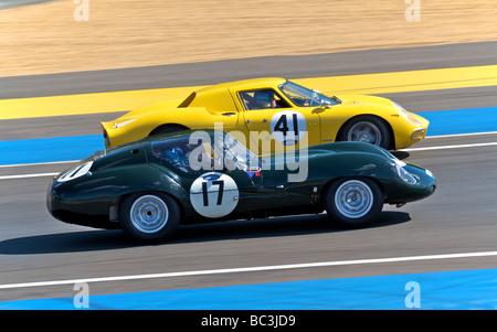 24 Stunden von Le Mans-Sportwagen-Rennen 2009 - Stockfoto