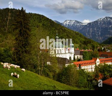 ettal kloster kloster bayern deutschland alpen alpin. Black Bedroom Furniture Sets. Home Design Ideas