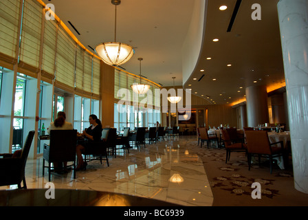 Eleganter Speisesaal des Hotels Fort Lauderdale Florida - Stockfoto