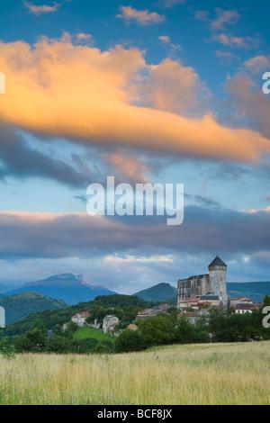 St-Bertrand De Comminges, Haute-Garonne, Midi-Pyrenäen, Frankreich - Stockfoto