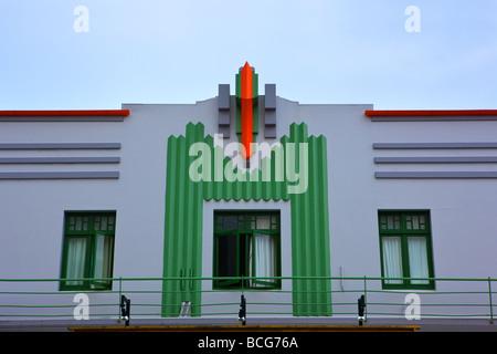 Art-Deco-Stil Napier Nordinsel Neuseeland - Stockfoto