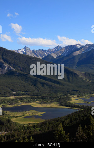 Kanada Alberta Banff National Park Vermilion Seen Sundance Sortiment - Stockfoto