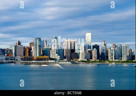 Skyline von Vancouver, Kanada - Stockfoto