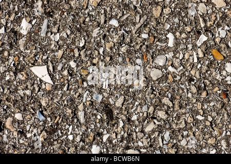Asphalt-Hintergrund hautnah mit Textur - Stockfoto