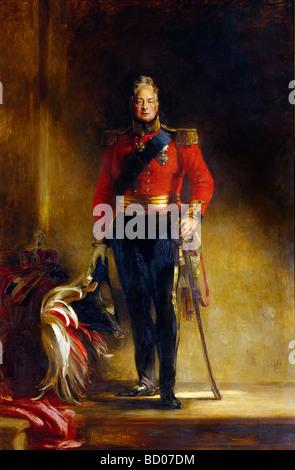 König Wilhelm IV., von Sir David Wilkie. Brighton, England, 19. Jahrhundert - Stockfoto