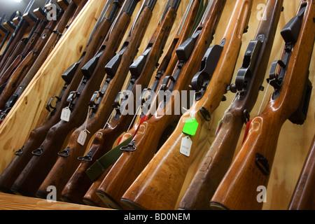 gun shop in burlington in der n he von minot north dakota viele arten von waffen stehen zum. Black Bedroom Furniture Sets. Home Design Ideas