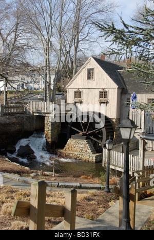 Jenney Grist Mill in Plymouth, Massachusetts - Stockfoto