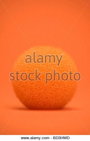 eine Runde Schaum Typ Ballobjekt - Stockfoto