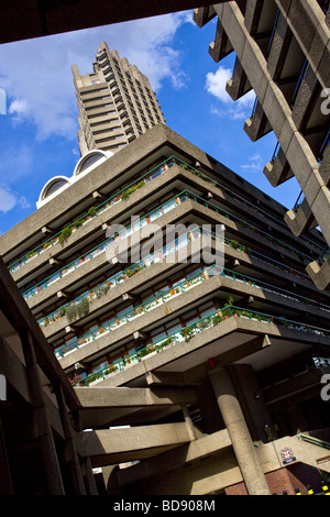 Die Barbican London England - Stockfoto