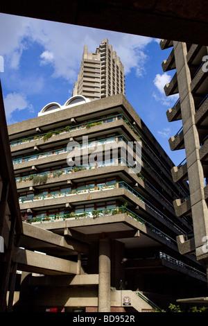 Die Barbican London England - Stockfoto