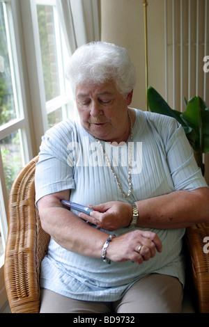 Behandlung von Uteruspapillom bei einer Frau