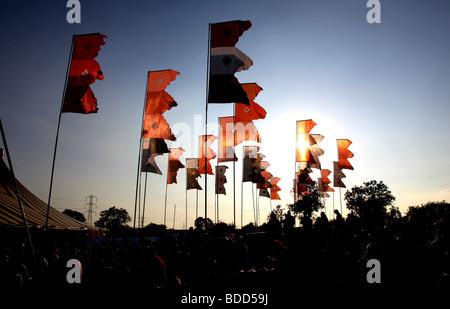 Glastonbury Festival 2009 - Stockfoto