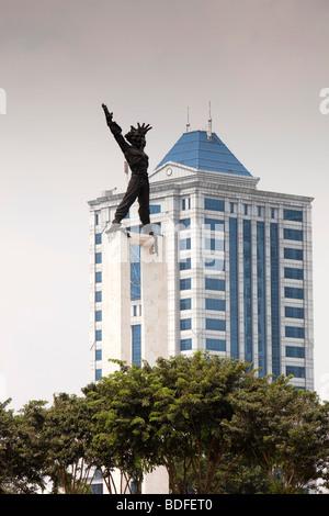 Stadtzentrum, Lapangan Banteng, das Freiheitsmahnmal, Jakarta, Java, Indonesien - Stockfoto