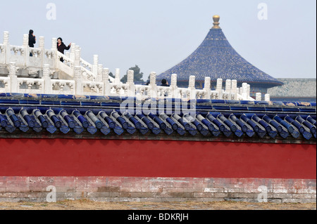 Tempel des Himmels Park Peking China - Stockfoto