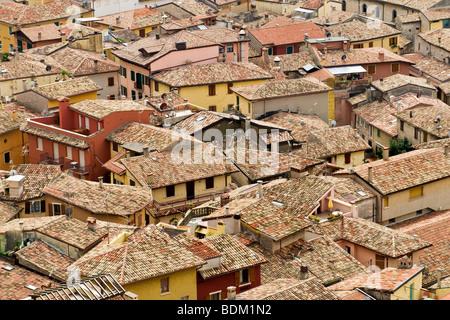 Blick von Scaliger Burg, Malcesine, Gardasee, Provinz von Verona, Italien - Stockfoto