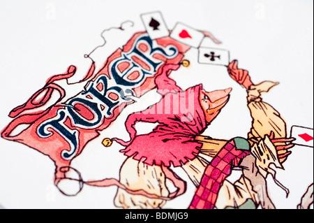 Kartenspiel - Stockfoto