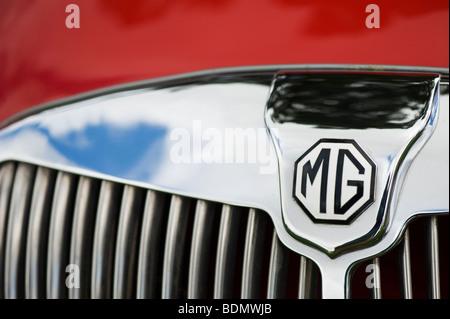 MG MGA 1600 Roadster, britische Oldtimer - Stockfoto