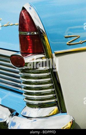 Ford Zodiac mark II Auto Rücklicht. Amerikanische Oldtimer - Stockfoto