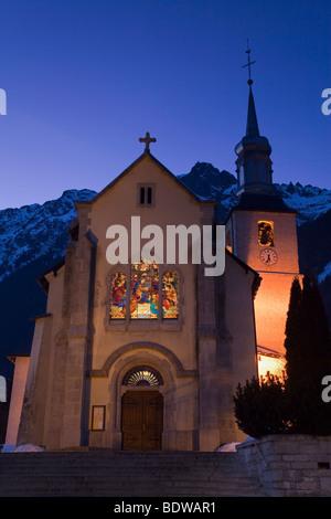 Chamonix-Mont-Blanc, Französische Alpen, Haute Savoie, Chamonix, Frankreich - Stockfoto