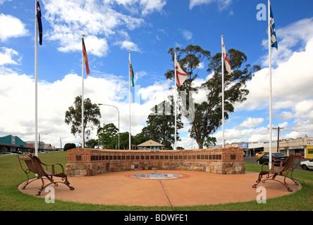 die Geschichte-Garten am Kurri Kurri, NSW, Australien - Stockfoto