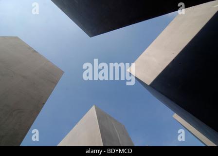 Denkmal für die ermordeten Juden Europas, Holocaust-Mahnmal, Berlin, Deutschland, Europa - Stockfoto