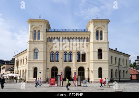 Nobel Peace Center, Rådhusbrygge, Oslo, Norwegen, Skandinavien, Nordeuropa - Stockfoto